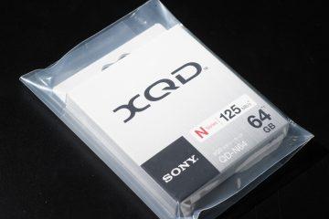 新品のXQDカードが送られてきた