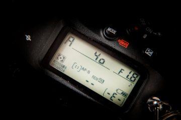 写真撮影の基本は絞り優先