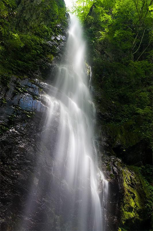 百尋の滝の撮影方法