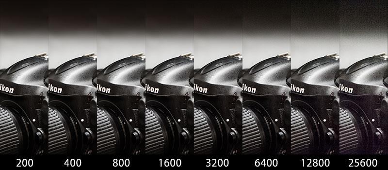 ISO感度増感による画像劣化
