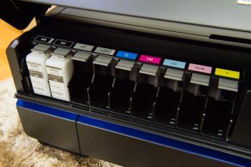 インクジェットプリンターの同梱インクの容量