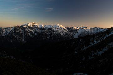 はじめての冬山