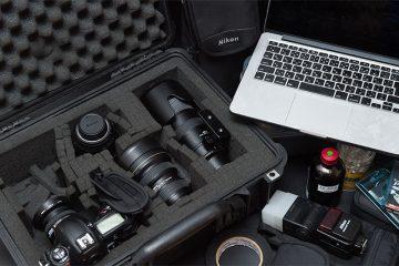 プロカメラマンが持つ道具