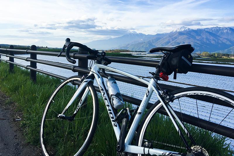登山とロードバイク