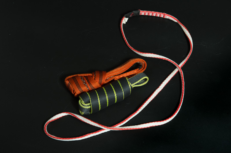 太さの違うスリングを複数持つと便利