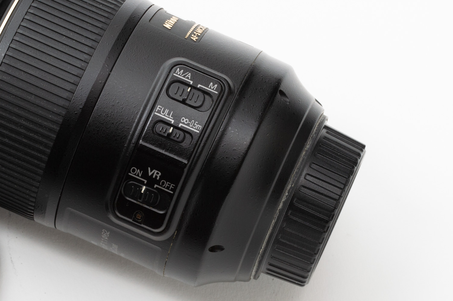 Nikon 105mm Microのスペック