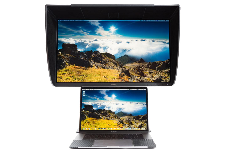 SW271とMacBook Pro