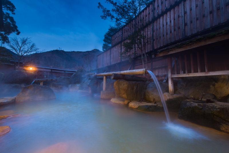 日本一の満足度の奥飛騨温泉郷