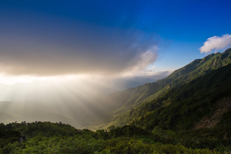 日本の四季がある山々