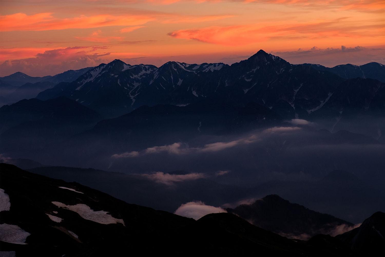 山岳写真の技術