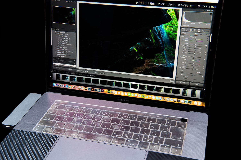 MacBook Proでの写真のレタッチ