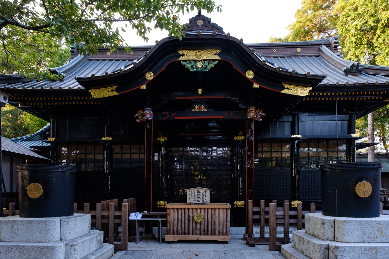 玉前神社本殿