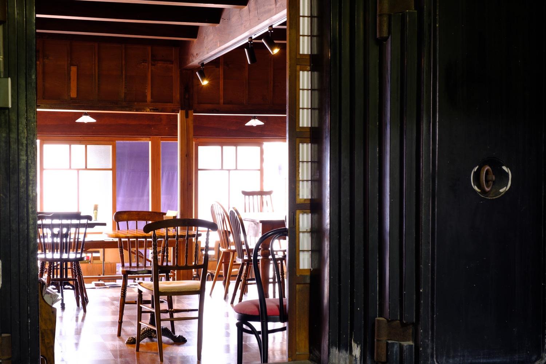 寿屋本家のカフェブース