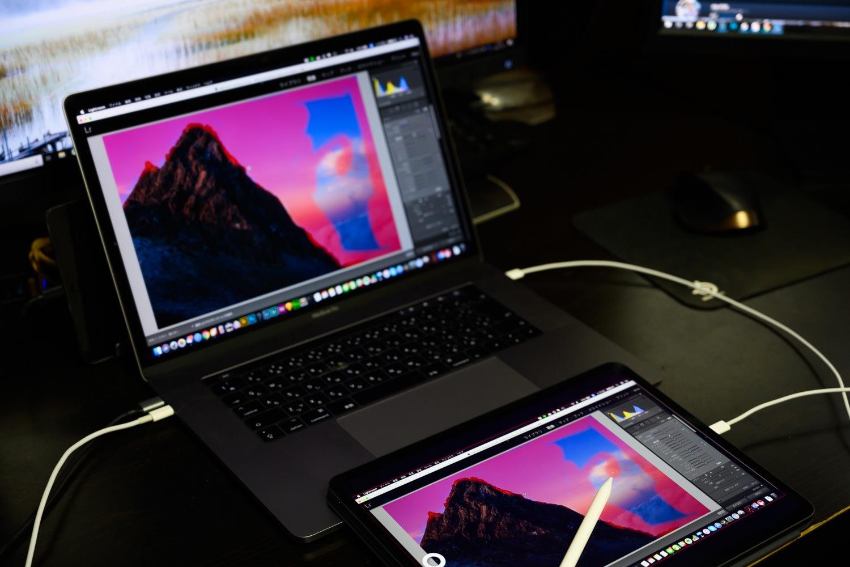 iPadProで写真レタッチ