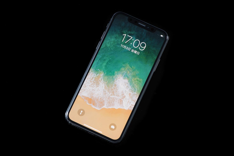 iPhone xの画面の撮影