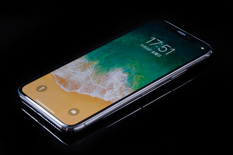 iPhone Xの撮影
