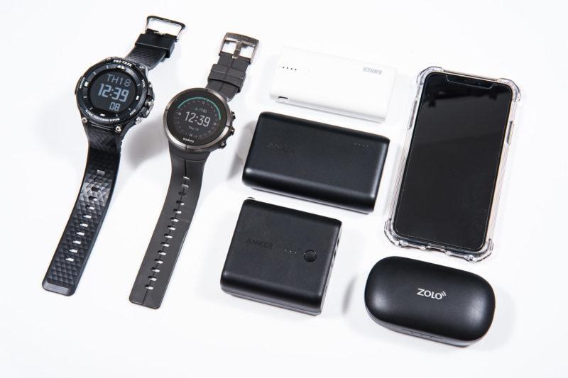 登山で使用するモバイルバッテリーの選び方