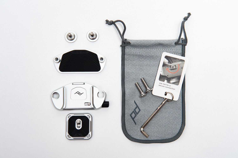 ピークデザイン キャプチャー V3の同梱品
