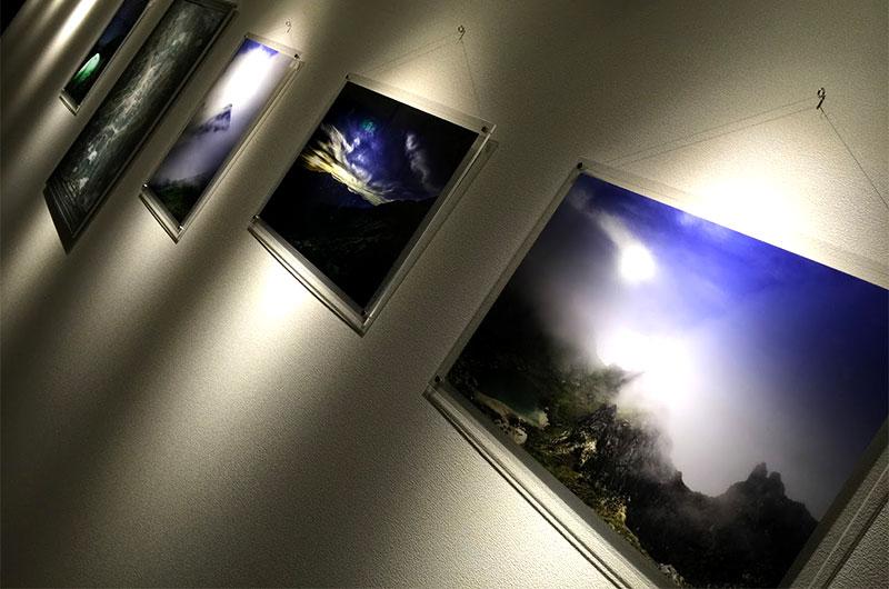 フォトギャラリーの展示