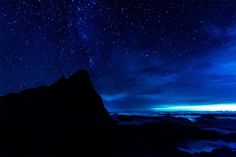 槍ヶ岳の山岳写真