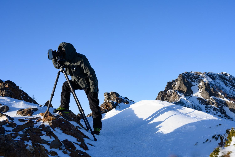山岳写真専用ハードシェル