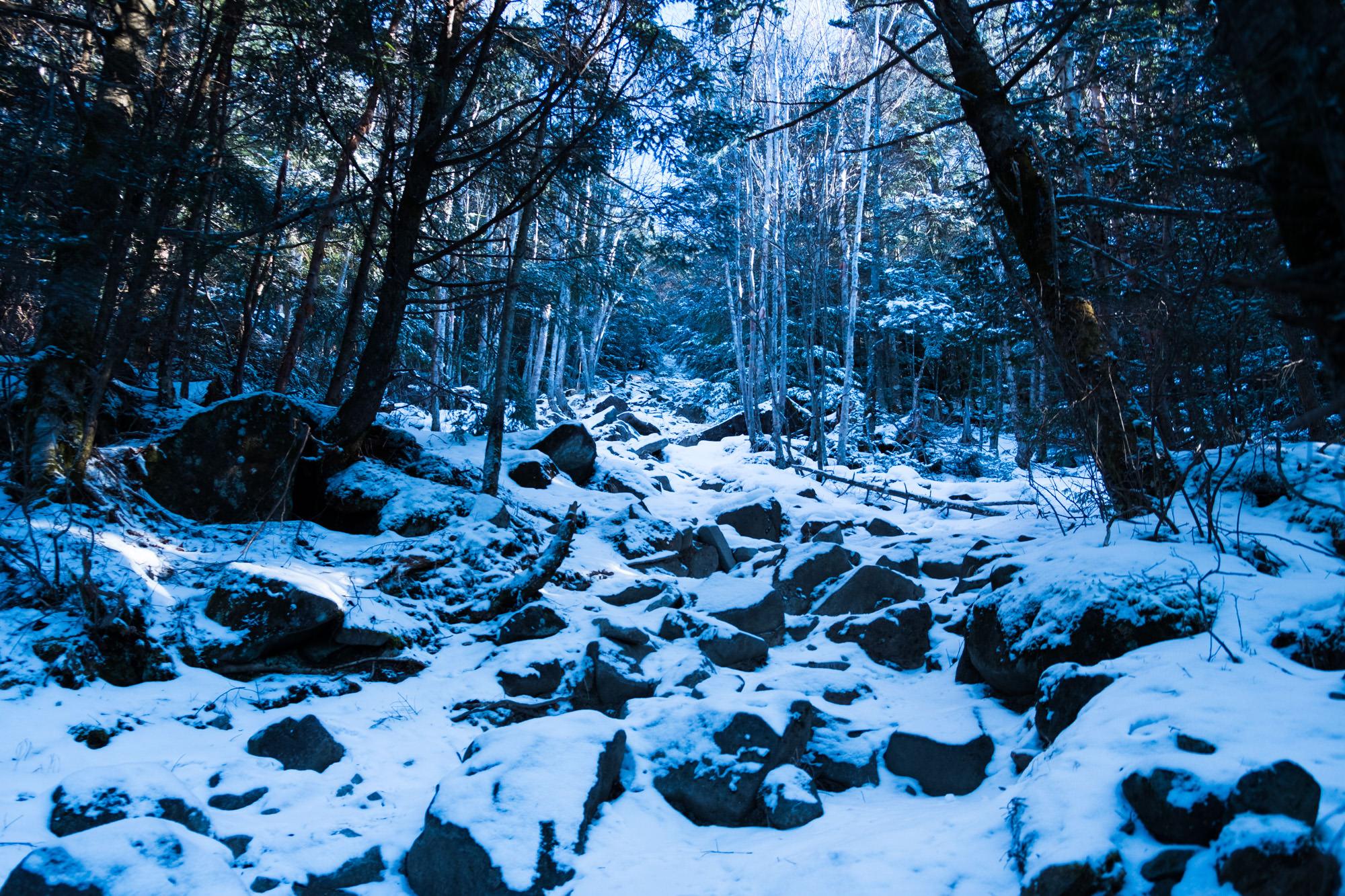 冬山登山の始まり