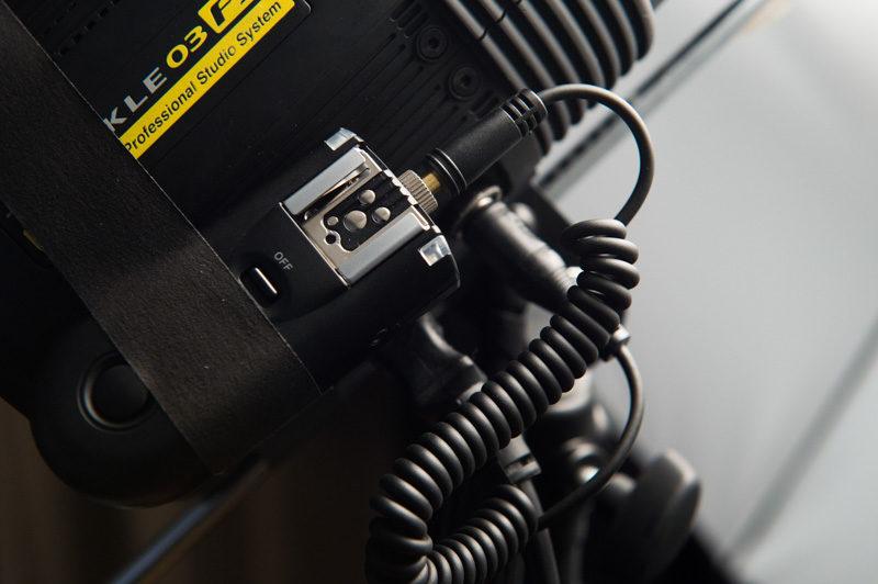 モノブロックストロボの無線化