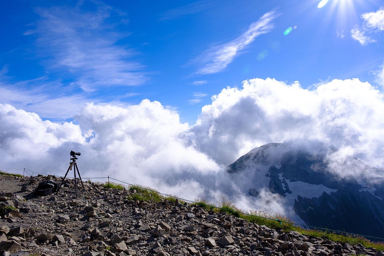 登山ではなく写真撮影