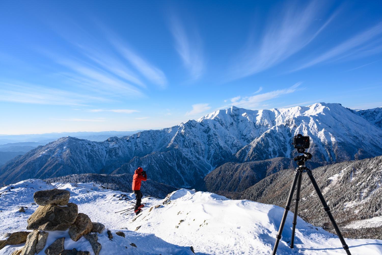 山岳写真フィールドワーク講習