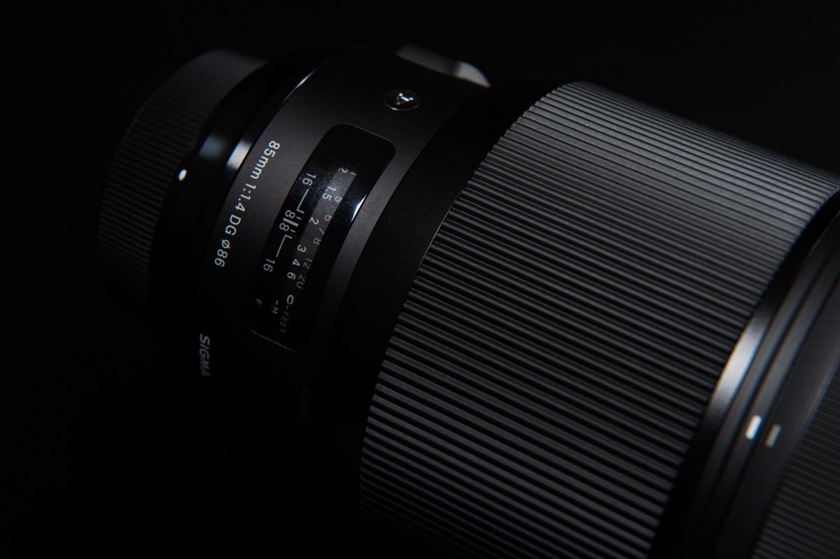 sigma-85mm-f1.4-artのフォーカス表示