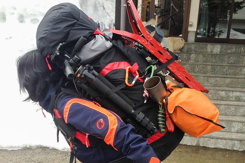登山レベルと撮影機材の組み合わせ