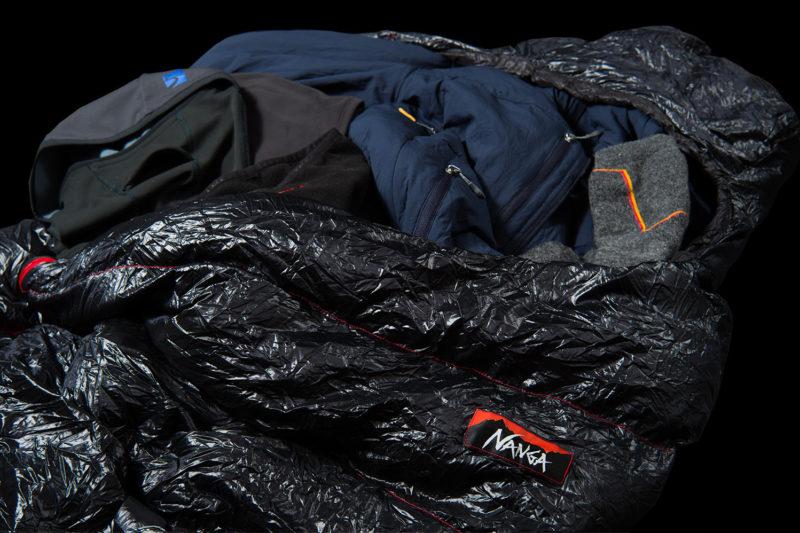 冬山で快適に睡眠をとるための装備