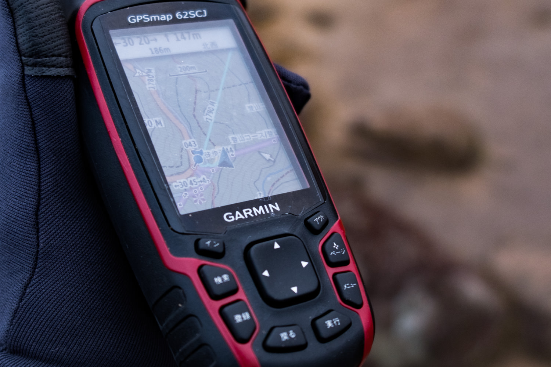 GPSMAP62  SCJでナビゲーションを行う