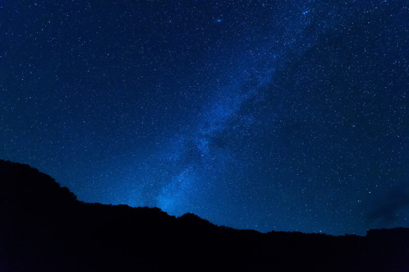 満天の星空が見たければ観光地の次に山に登ろう。次元が違います