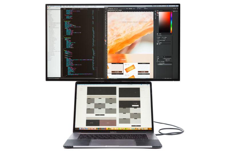 MacBookProを使うデザイナーにオススメなBenQ PD2710QC